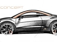 Peugeot RCZ R Concept Sketch , 4 of 7
