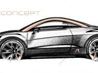 Peugeot RCZ R Concept Sketch , 4 of 7