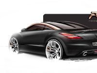 Peugeot RCZ R Concept Sketch , 5 of 7