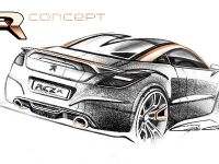 Peugeot RCZ R Concept Sketch , 6 of 7