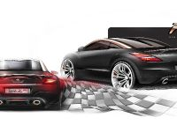 Peugeot RCZ R Concept Sketch , 7 of 7