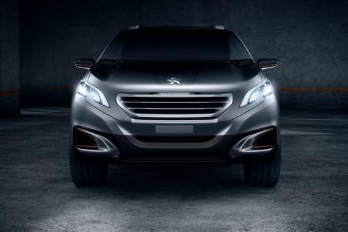 Peugeot Urban Crossover Concept показал в Пекине