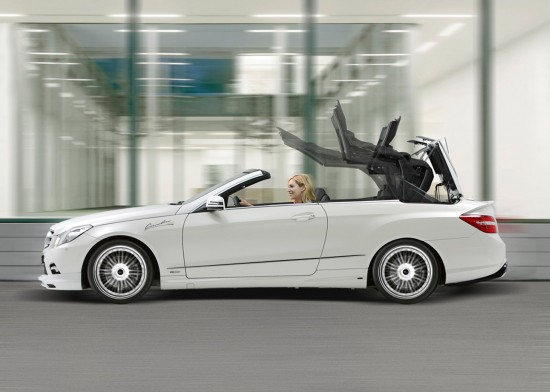 Piecha Design Mercedes-Benz E-Class Convertible