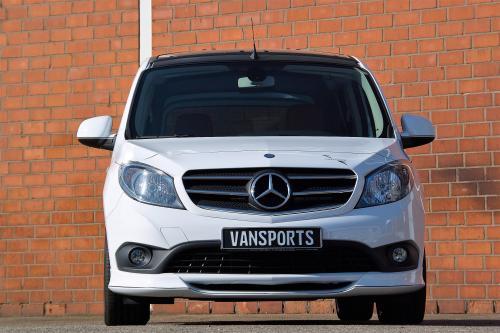 PM Vansport показывает обновления Mercedes-benz citan