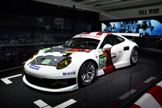 Porsche 911 RSR Frankfurt