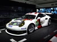Porsche 911 RSR frankfurt 2013