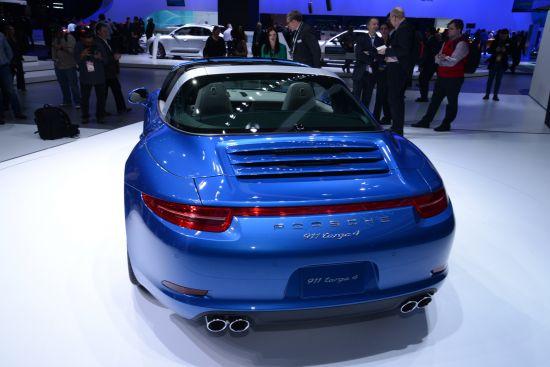 Porsche 911 Targa 4 Detroit