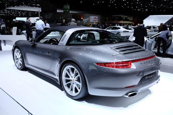 Porsche 911 Targa 4 Geneva