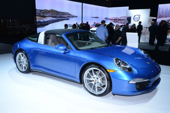 Porsche 911 Targa 4 New York