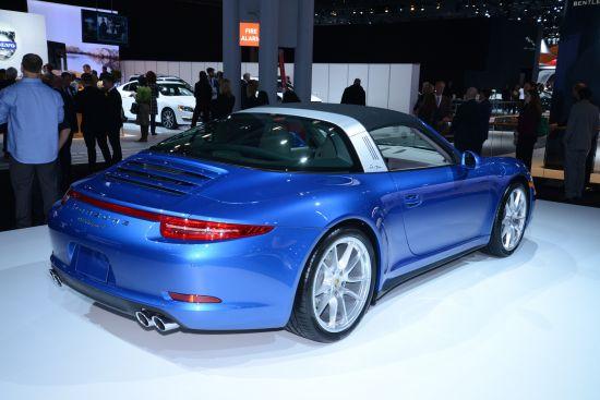 Porsche 911 Targa 4 New York