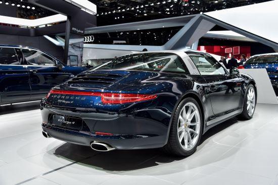 Porsche 911 Targa 4 Paris