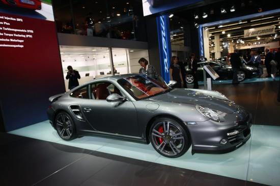 Porsche 911 Turbo Frankfurt