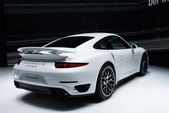 Porsche 911 Turbo S Frankfurt