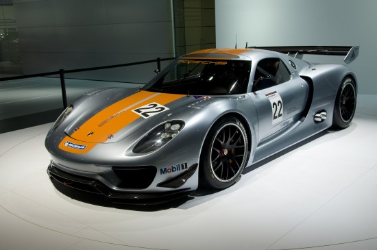 Porsche 918 RSR Detroit