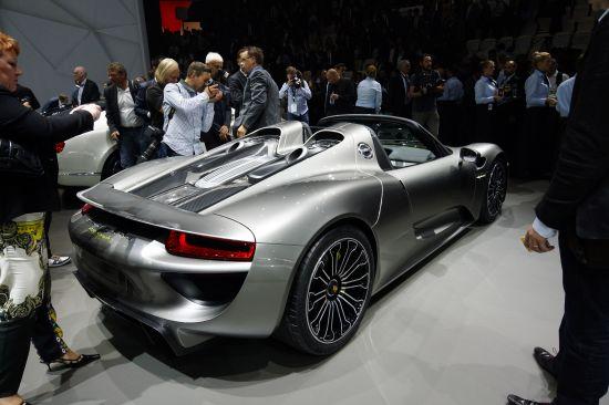 Porsche 918 Spyder Frankfurt