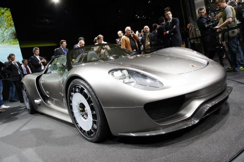 Porsche 918 Spyder concept полностью раскрыта