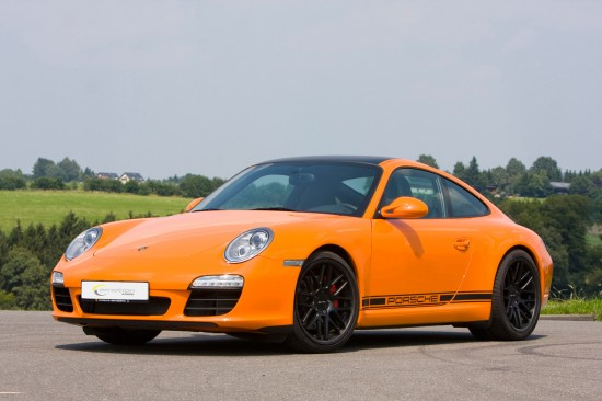 Porsche 997 Carrera S with Emotion Wheels Concave