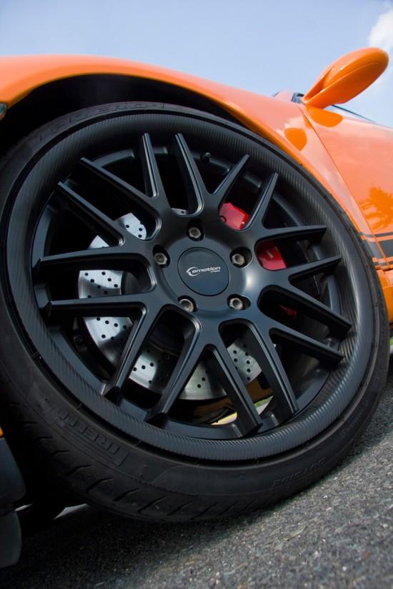 Porsche 997 Carrera S with Emotion Wheels Concave