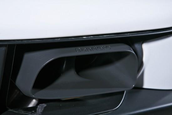 Porsche 997 GT2 Capristo Exhaust