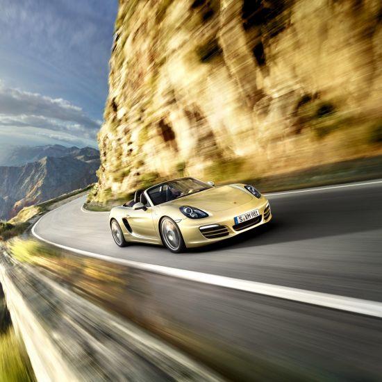 Porsche Boxster 211 HP