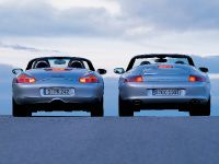 Porsche Boxster and 911 Cabriolet