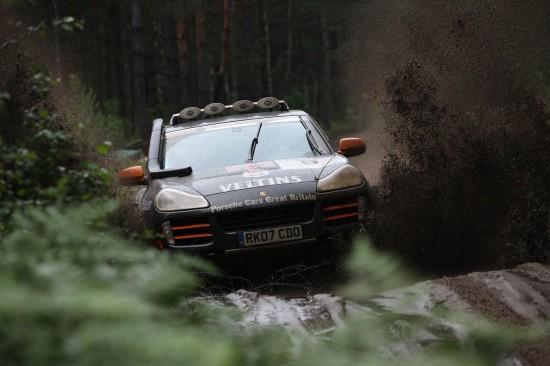 Porsche Cars Great Britain Rally