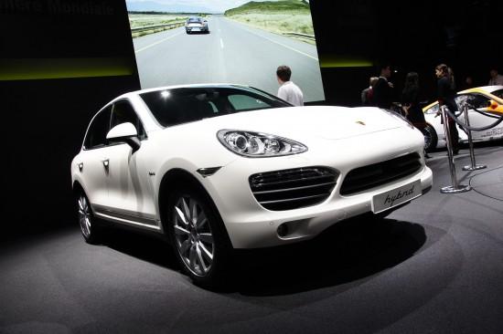 Porsche Cayenne Geneva