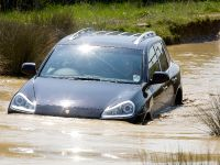 Porsche Testing The Cayenne Off-Road at the Porsche Driving Experience Centre Silverstone