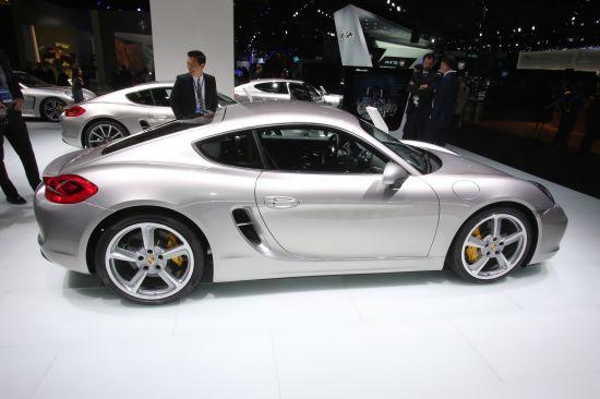 Porsche Cayman Detroit