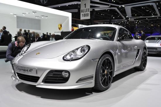 Porsche Cayman R Geneva