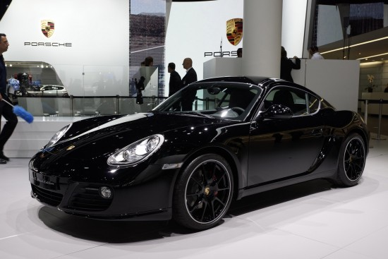 Porsche Cayman S Black Edition Frankfurt