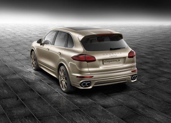 Porsche Exclusive Cayenne S in Palladium Metallic