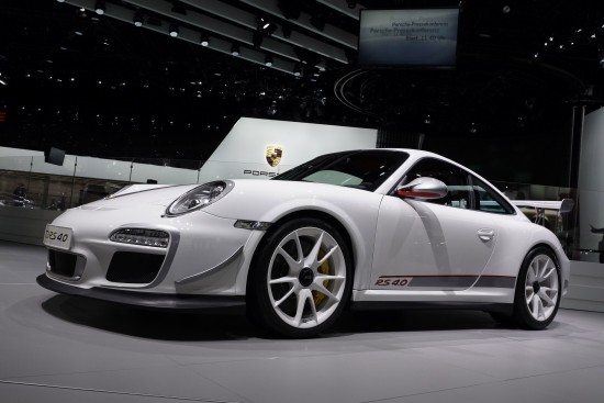 Porsche GT3 RS 4.0 Frankfurt