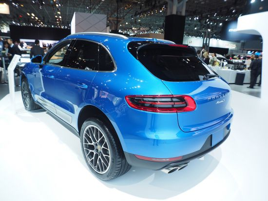 Porsche Macan New York
