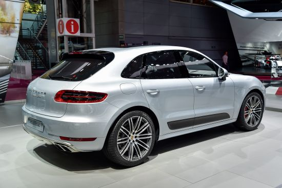 Porsche Macan Turbo Paris