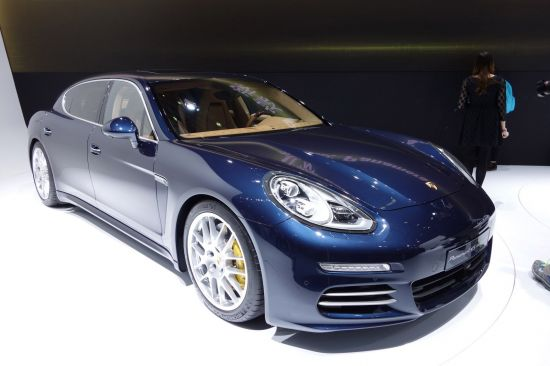 Porsche Panamera Shanghai