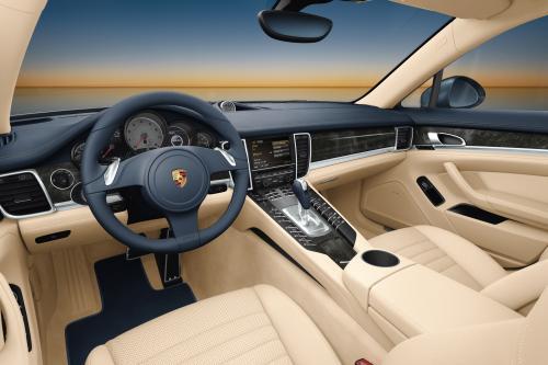 Porsche представлена пространства концепция новой Panamera