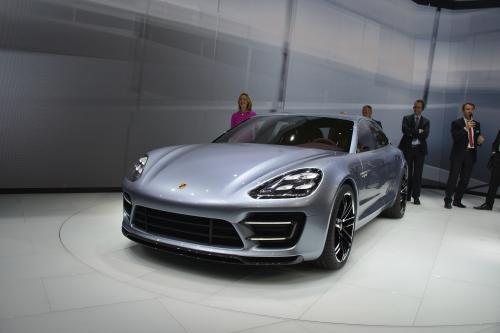 Представление нового Porsche Panamera Sport Turismo Concept Car