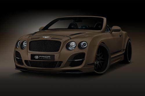 До дизайна Bentley Continental GTC