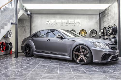 До-дизайн черный издание В3 аэродинамический обвес-Кит для Mercedes S-класса [W221 Мерседес]