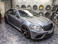 PRIOR-DESIGN Black Edition V3 Widebody Aero-Kit for MERCEDES S-Class W221, 4 of 9