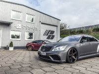 PRIOR-DESIGN Black Edition V3 Widebody Aero-Kit for MERCEDES S-Class W221, 9 of 9