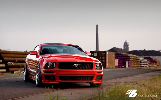 PRIOR-DESIGN Ford Mustang Red