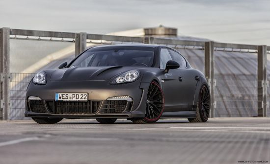 Prior Design Porsche Panamera Wide Body Kit