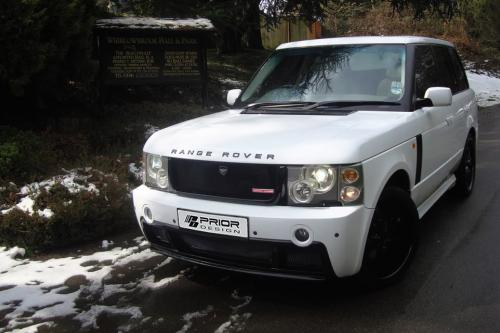 До Дизайна Range Rover Обвес