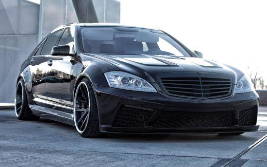 Prior Design V2 Widebody Kit Black Edition Mercedes-Benz S-Class W221