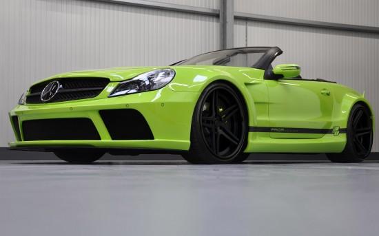 Prior PD BlackEdition Widebody Kit Mercedes SL