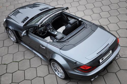 Mercedes SL предварительного дизайн-аэродинамика