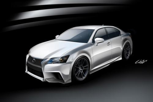 Lexus project gs f-sport by five axis