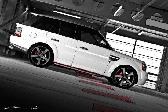 Project Kahn  Range Rover Sport Davis Mark II